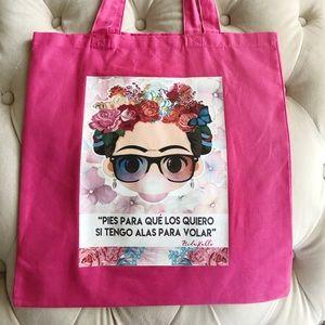 Handbags - Frida Kahlo tote bag